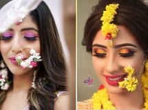 floral Nath ideas | 2019 bridal trends