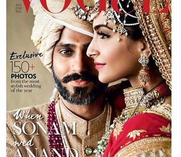 Sonam Kapoor and Anand Ahuja | Celebrity Weddings | Vouge |