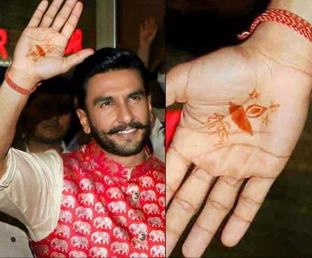Ranveer Singh and Deepika Padukone wedding | Ranveer singh Mehenid design | Sabyasachi |