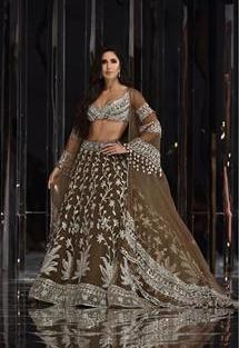 Katrina Kaif in Manish Malhotra lehenga