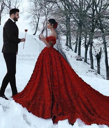 Pre Wedding Photography | Photography shoot location | Couple Photography | Photographer | Red gown | Outfit ideas for shoot | Destination | Couple Goals | Photography skills | Inspiration |
