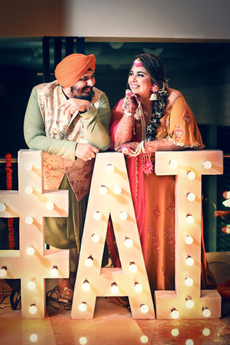 Wedding hashtag | Cute couple pictures | Punjabi | Mehendi Functions |