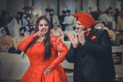 Couple Goals | Plus Size Bride | Red bridal Gown | candid Wedding Photography |