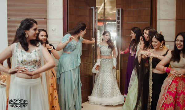 Niti Taylor engagement | Indian actress Niti Taylor | Bride and her bridesmaids