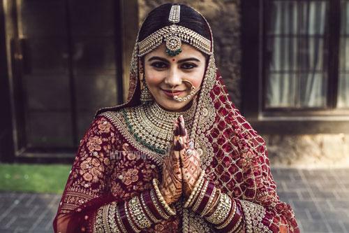 Wedding in Ahmedabad | indian bride in red | Sabyasachi bride | Steffi & Zeel