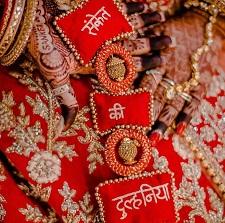 Personalised deatils   Latkans   Bridal Wear   Designer fashion  