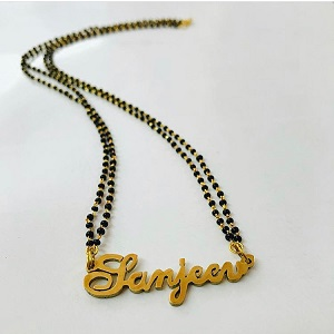 | 2020 Wedding Trend | Name mangalsutra | Customised | Personalised | Wedding trends