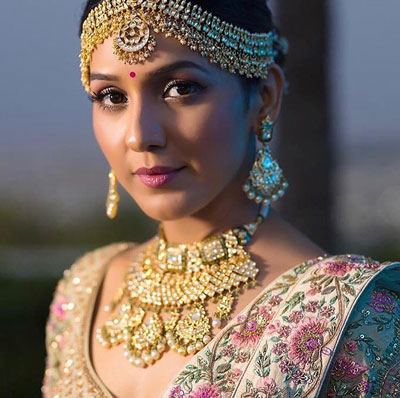 Neeti Mohan in Payal Keyal | Bridal look | Bridal Phootography | makeup for Indian Brides | Bridal Jewellery