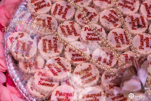 Customised wedding cookies | Bride andgroom name | Beach wedding in kenya | #pasha2019