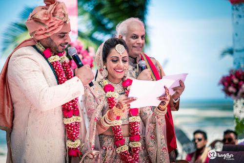 #pasha2019 | Beach wedding in Kenya | Paayal & Samir | Wedding vows |