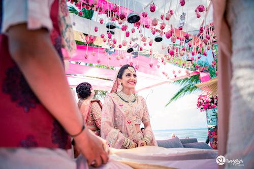 #pasha2019 | Beach wedding in Kenya | Paayal & Samir | Bridal entry