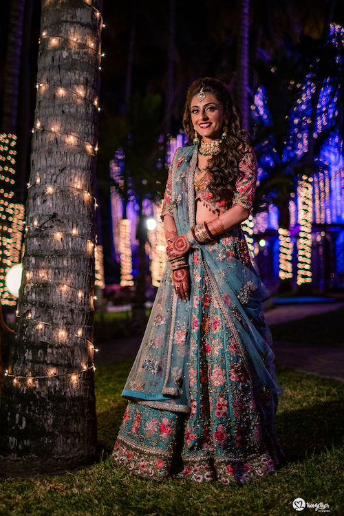Beach Wedding in Kenya | Romantic | Sangeet night | Bridal wear | Lehenga ideas | Bridal Fashion | Kenya Wedding