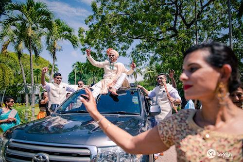 #pasha2019 | Beach wedding in Kenya | Paayal & Samir | Baraat ideas | Groom Entry