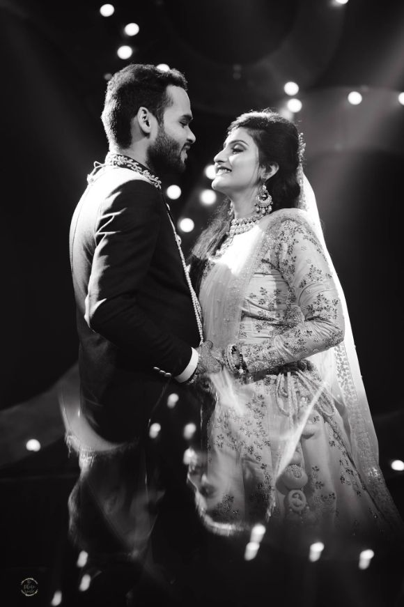 sangeet night | couple dancing on sangeet night