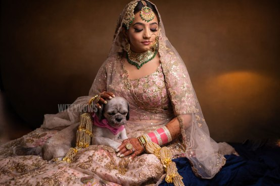 wittyvows | brides with dogs | indian brides with puppies | trends of 2020 | decade end wedding trends | indian wedding 2020 | brides of wittyvows | big fat indian wedding | wedding of 2019 | destination wedding | indian destination wedding | pink lehenga | punjabi bride | punjabi wedding | sikh bride | #wittyvows #sikhbride #punjabibride #punjabi #punjabibrides #punjabiweddings #bridesofwittyvows #weddingtrendsthatareheretostayin2020