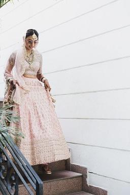 Pankhuri & Gobind | Pink and gold lehenga | Trending brides | Chandigarh weddings