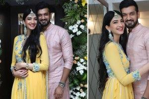blogger bride roka | mumbai blogger | roka ideas | yellow outfit