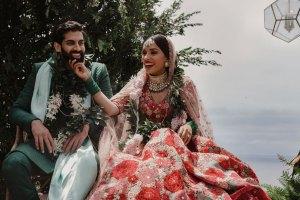 Sabyasachi bride | deepika Padukone lehenga | mili ghosh | Ankur & Riya