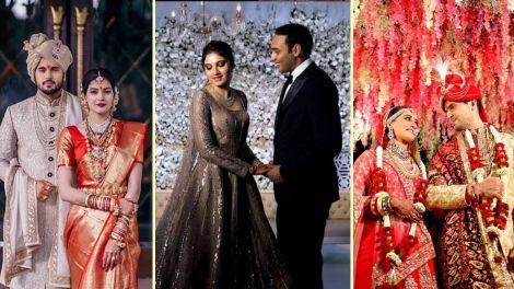 Celebrity weddings 2019