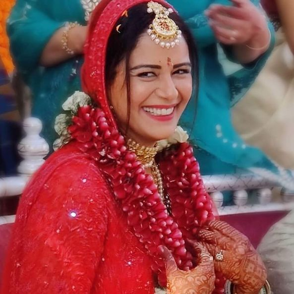 Mona Singh's Wedding Photos | Celebrity Wedding Trends of 2019