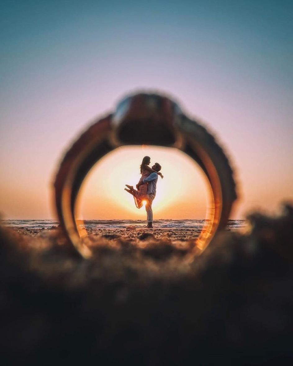 ring photo shoot ideas | Best Spotted Pre-Wedding Shoot Trends
