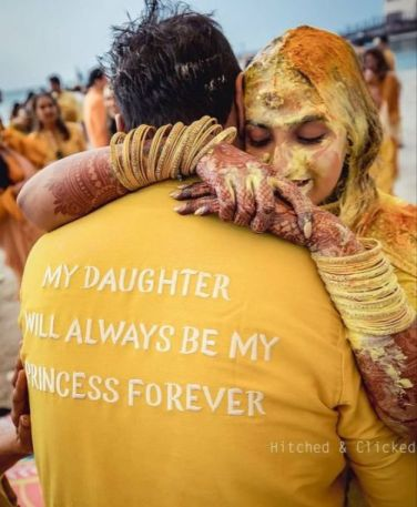 Best Father Daughter Songs | Father Daughter moment at haldi ceremony