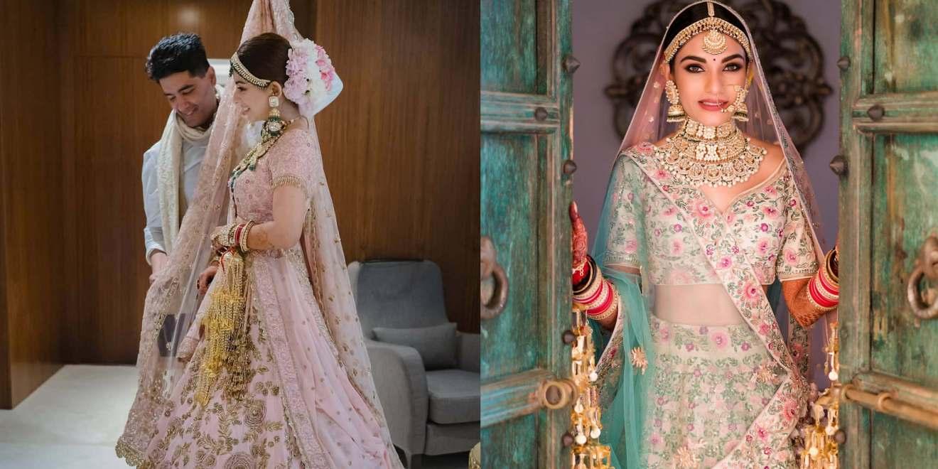 indian bridal designer wear 2020   manish malhotra lehenga