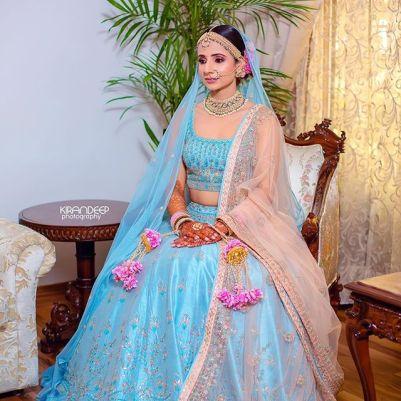 blue lehenga designs | sikh bride |  blue bridal lehenga | coral blue lehnga style | latest blue lehenga | punjabi bride | big fat indian wedding 2020 | maroon lehenga | sea blue bridal lehnga | latest bridal lehenga | pastel lehenga | pastel Lehenga Colour trends |  | wittyvows | 2020 lehenga trends for indian brides | chooda designs | #wittyvoes #lehenga #2020bridallehenga #bridallehengacolours #lehengacolours #pastelehenga #bluelehenga #bridesofwittyvows