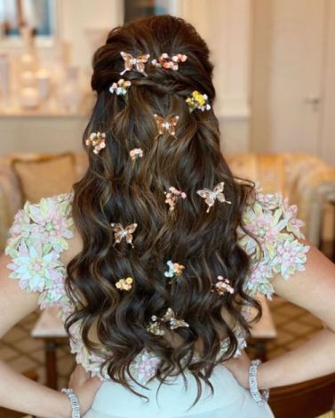 beautiful butterfly hair accessoty