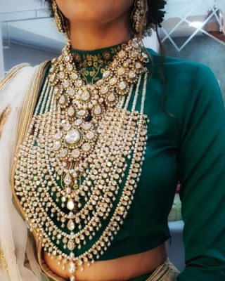 bridal trends | polki diamonds | polki necklaces for indian brides 2020