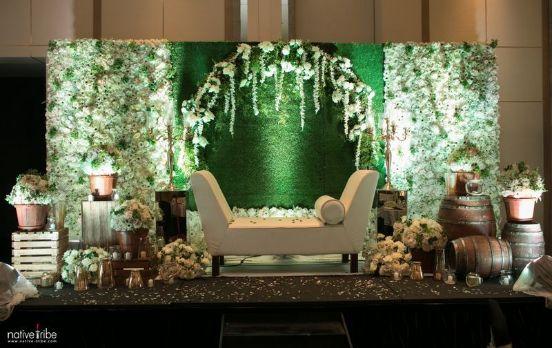 green theme wedding decor | Wedding Planning Checklists