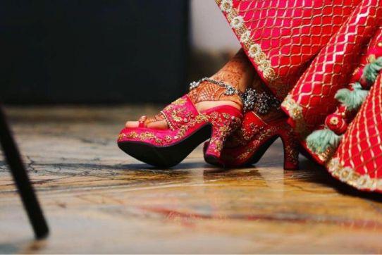 Wedding Shoes | INDIAN Bridal footwear