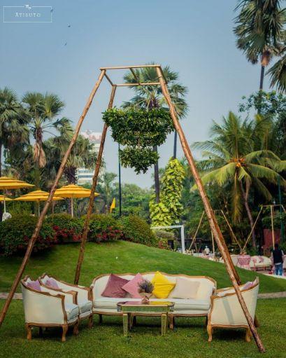 sober Wedding decor | canopy decor ideas at Indian Weddings