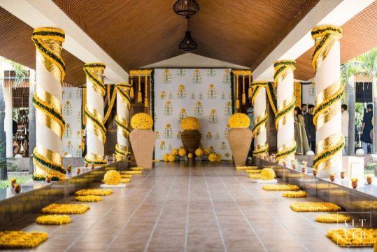Stunning south Indian themed decor ideas | Indian Wedding Decoration Ideas