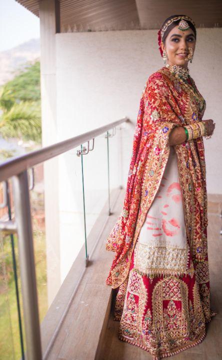 Stunning Gujarati Wedding | bridal portraits
