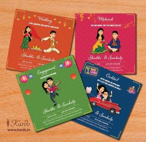 Indian Wedding Invitation Cards | Wedding Planning Checklists