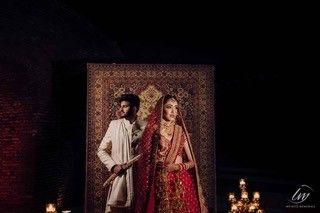 couple pjhoto shoot ideas | beautiful carpet ideas this wedding season | Indian Wedding Decoration Ideas