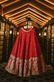lehenga for a sabyasachi bride