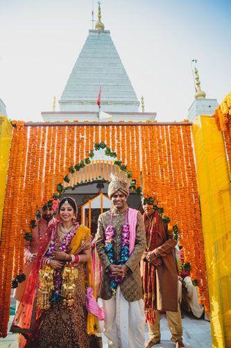 Effect of Corona Virus on Weddings | temple wedding