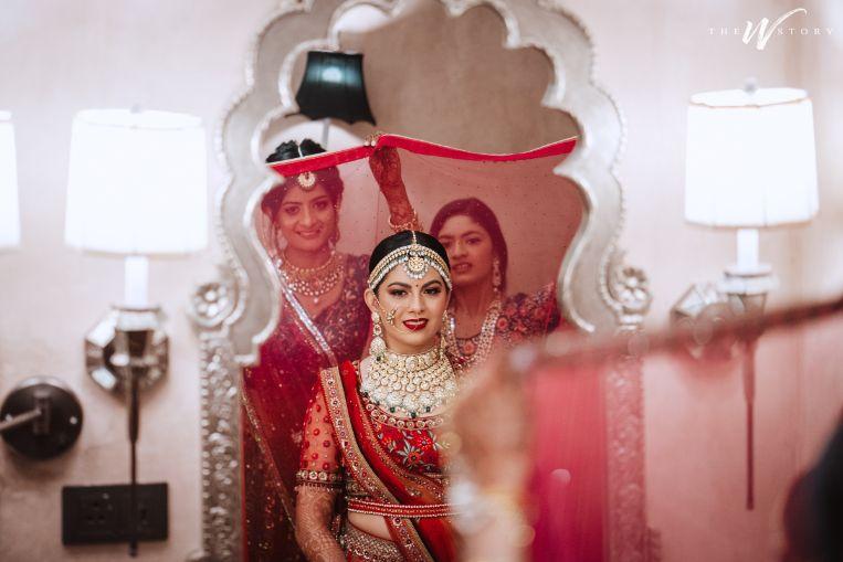bridal makeup | Destination Wedding in Jaipur