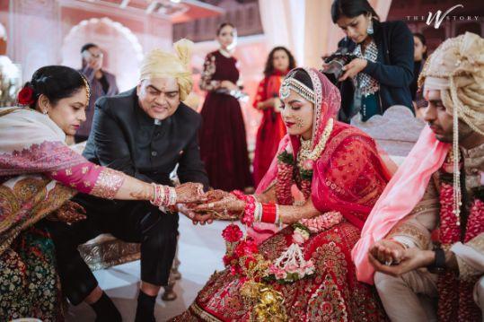 indian wedding | rituals | parents of the bride | Destination Wedding in Jaipur