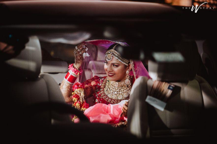 happy bride | vidai time |