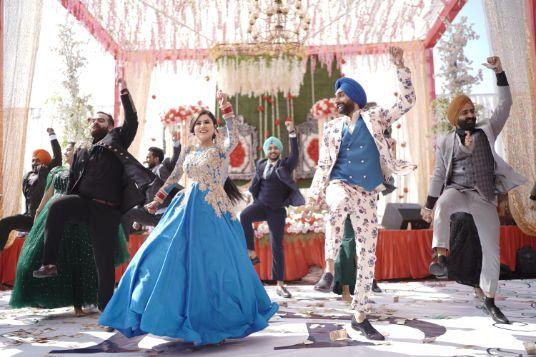 couple dance | bhangra | Surprise Proposal
