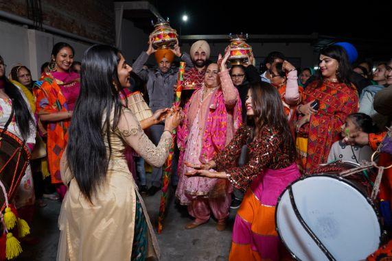 jaago night | indian wedding fun