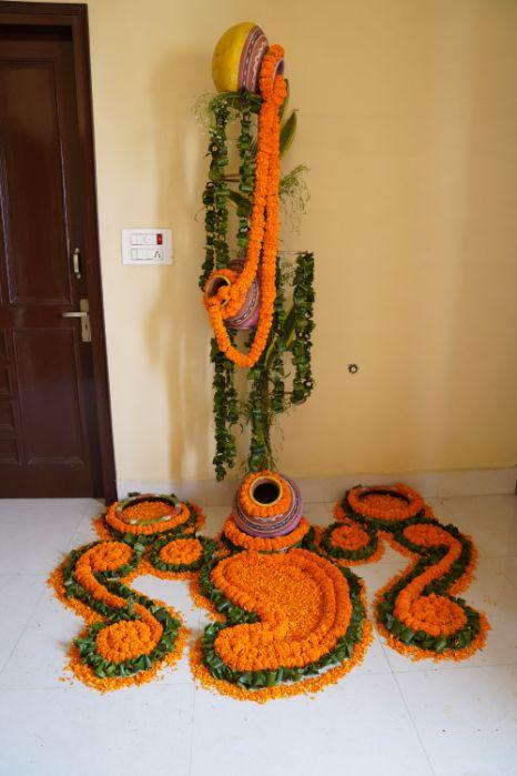 decor | marigold decor | indian wedding decor