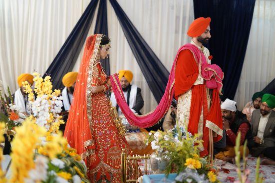 phere ceremony | sikh wedding | Surprise Proposal