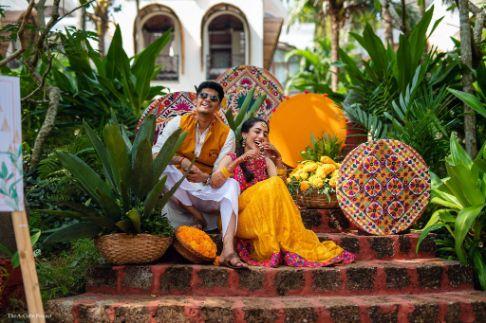 mehendi day photo shoot | couple photoshoot | wedding in Kerala