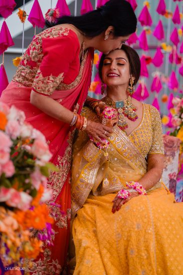 mother of the bride photos   floral jewellery to drool over