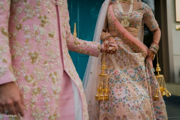 bride and groom candid clicks | Jaipur Wedding