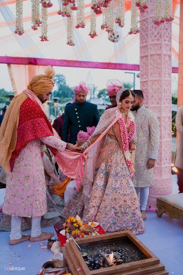 pera ceremony   Jaipur Wedding